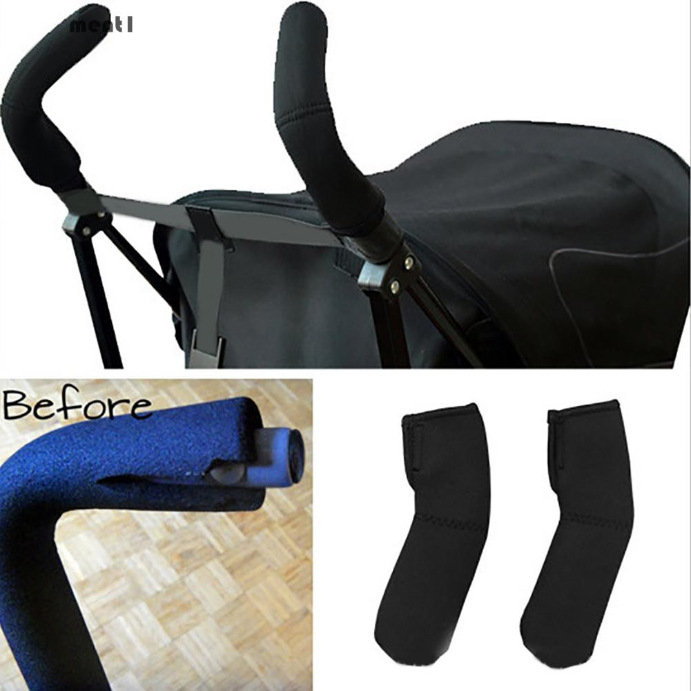 Baby Stroller Armrest Accessories Armrest Cover Protection Stroller Large Rotary Gloves Oxford Washable For Stroller Activity & Gear