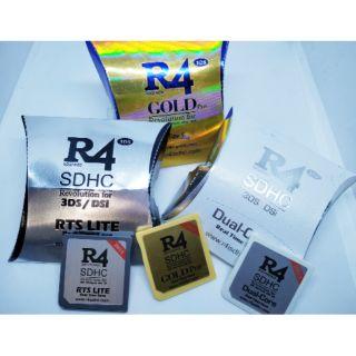 R4 DUAL CORE 2018 for NTRBOOT DS DSi 2DS 3DS 8GB / 16GB R4i | Shopee