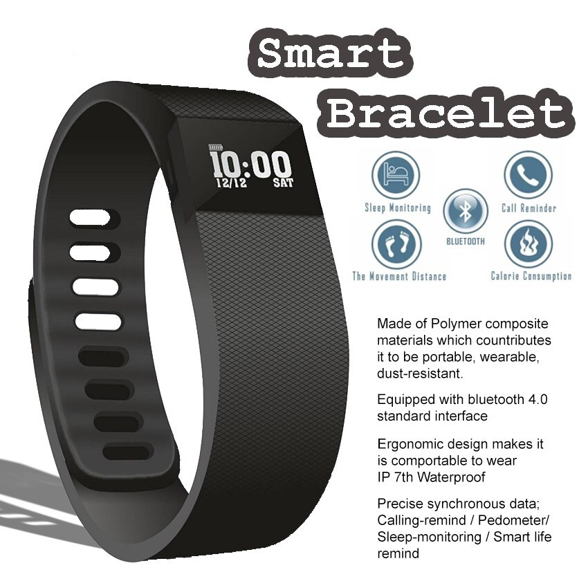 Ip68 Waterproof Smart Bluetooth Sport Wrist Watch Bracelet Fitness Sleep Tracker | Shopee Philippines