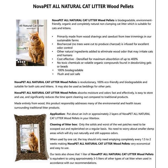 Cat Litter Wood Pellets 5l Shopee Philippines