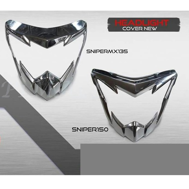 YAMAHA SNIPER 150 fiber head light mask new design v3