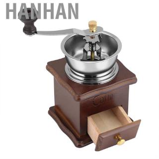 Ready StockVintage Wooden Manual Coffee Grinder with ...