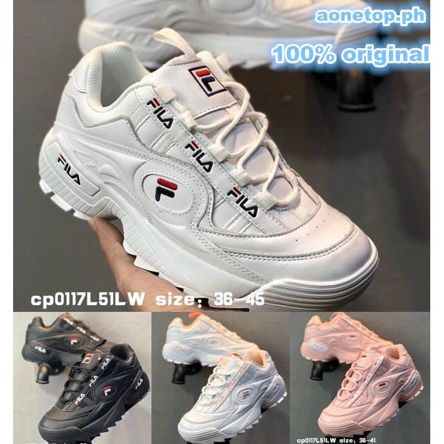100% Original FILA Disruptor III 3 Thick Bottom Sprots Shoes