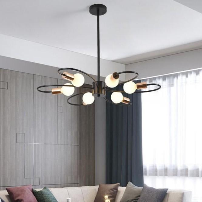6 Lights Pendant Lighting Nordic
