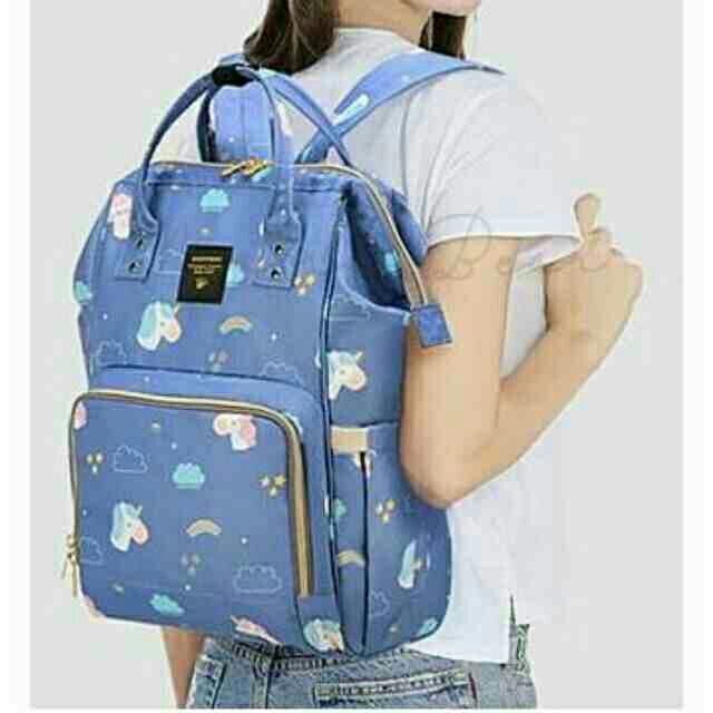 4b5661f12f66 Insular Fashion Baby Diaper Backpack Multifunctional Mommy Bag Backpack |  Shopee Philippines