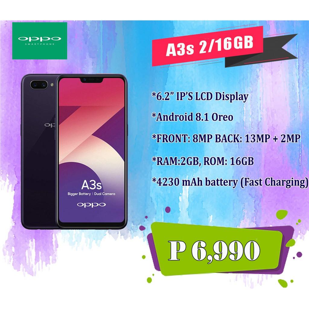A3s 2GB/16GB