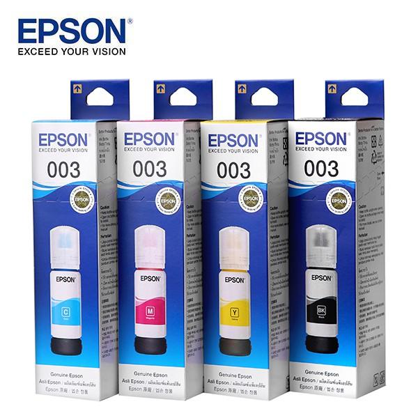 Epson L3110/L3150 (003) Eco Tank Inks BK,C,M,Y (65ML)