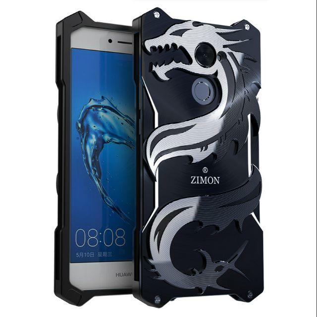 best sneakers 4a512 1314e Huawei Y7 Prime Enjoy 7 Plus Simon Zimon Metal case