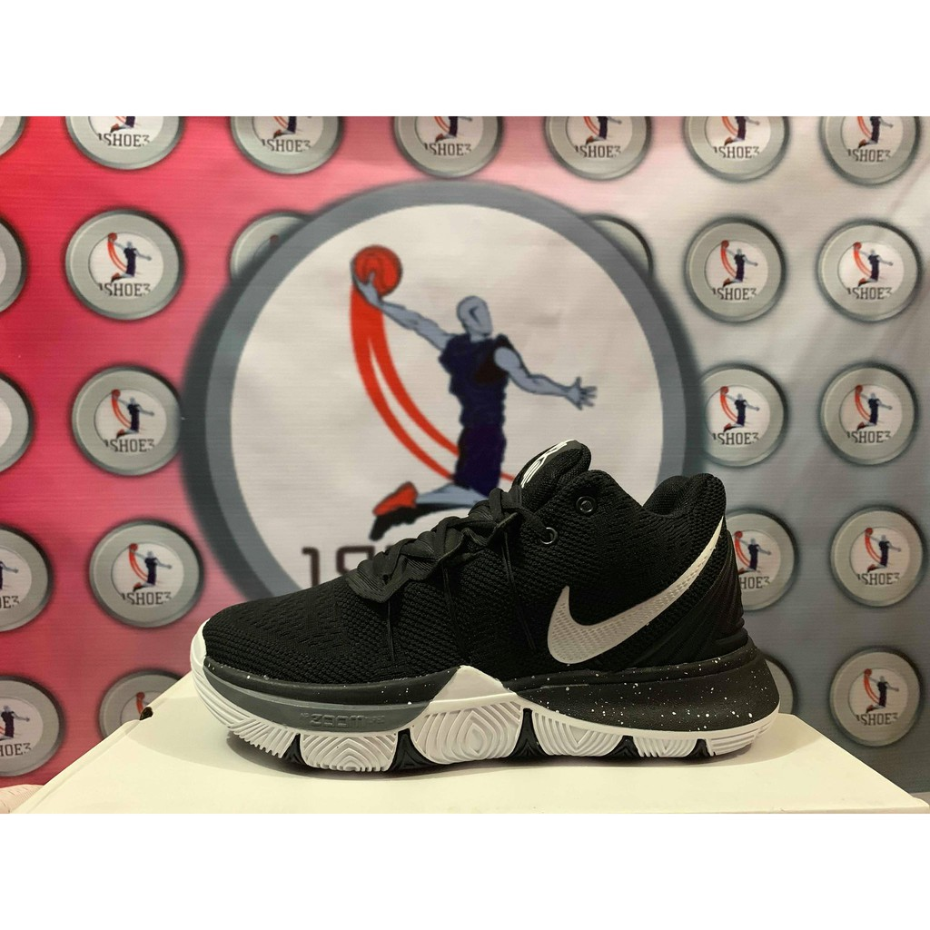 ad89de15801 HQ BW-KYRIE 5 BLACK WHITE MEN SIZES