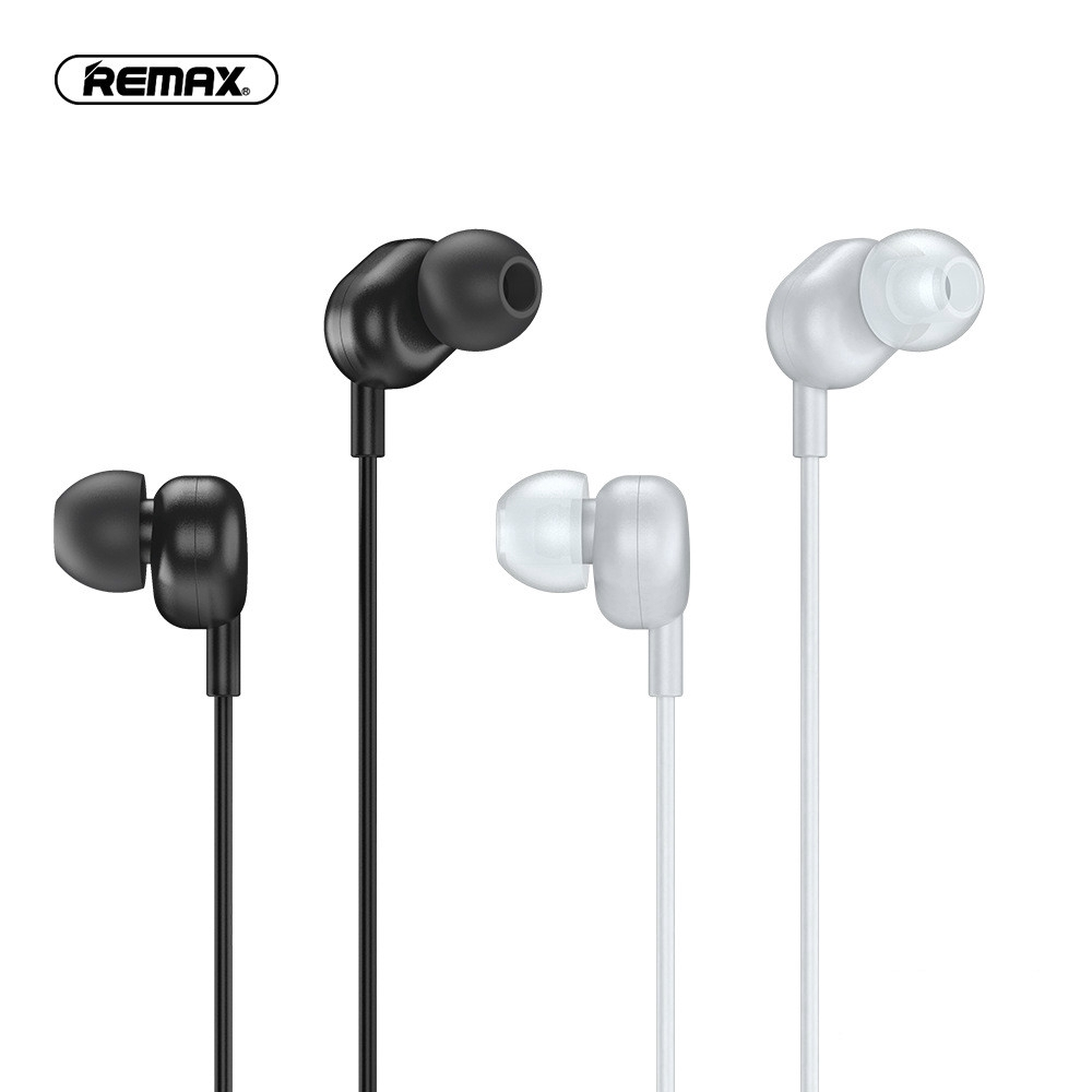 Remax Wired Headset In Ear Music Call Mobile Phone Headset One Button Control Rw 105 106 Shopee Philippines