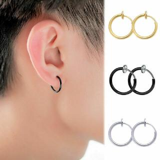 Ready Stock 18mm 10mm Retractable Earrings No Need Piercing