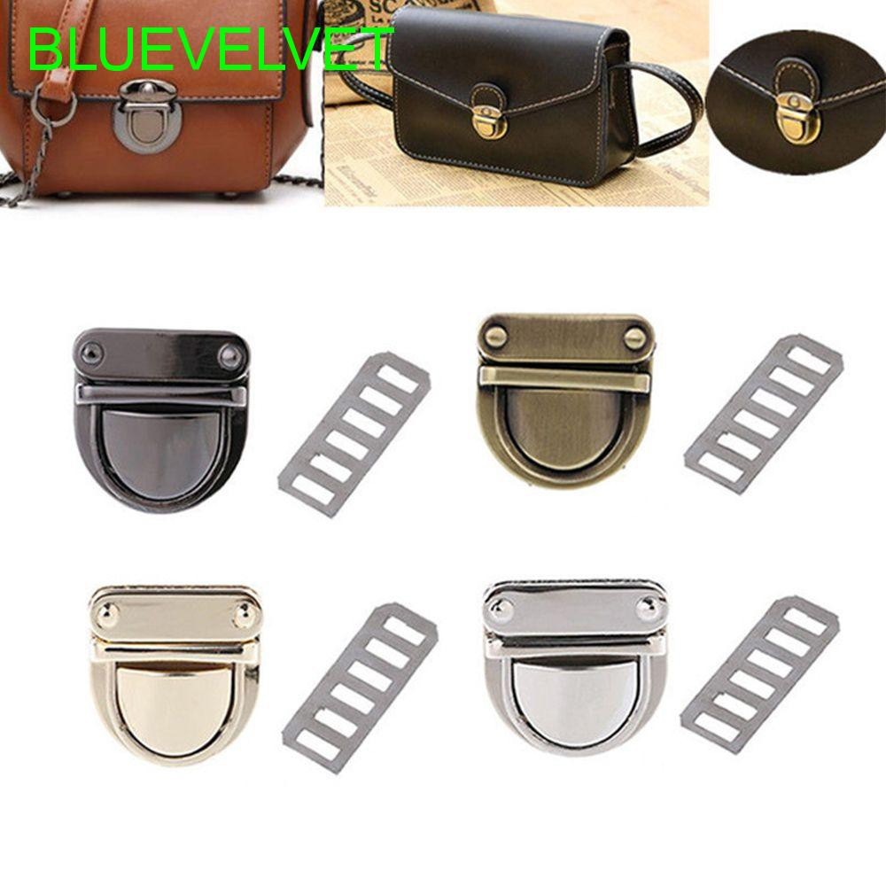 Accessories For Bag Purse Handbag Shape Round Hardware Turn Lock DIY Bag Clasp