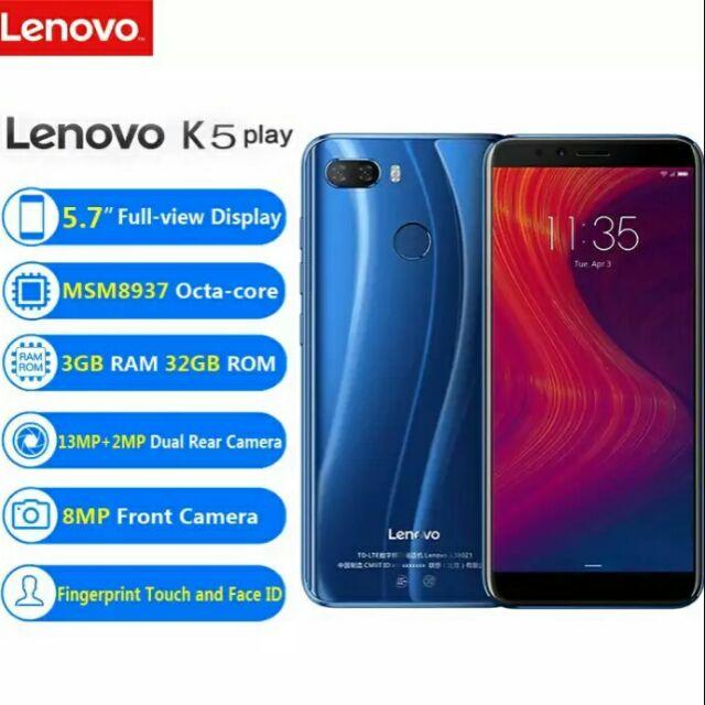 Original Lenovo K5 play (32GB ROM+3GB RAM)