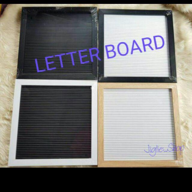 LETTER BOARD 25x25 cm