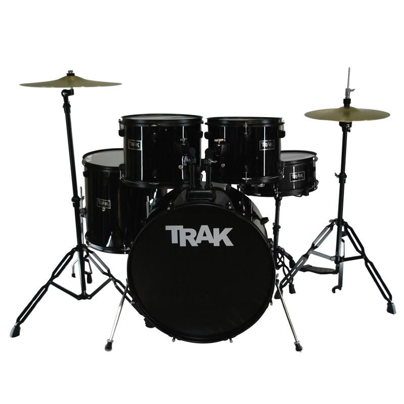 Trak Jbp1601a 5pc Drumset Black Shopee Philippines