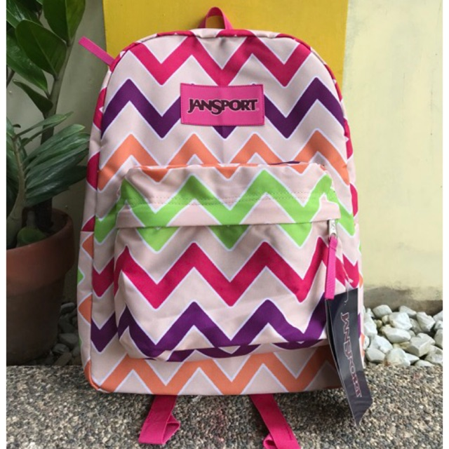 f57387a3692 JANSPORT BACKPACK STITCH PRINT   Shopee Philippines