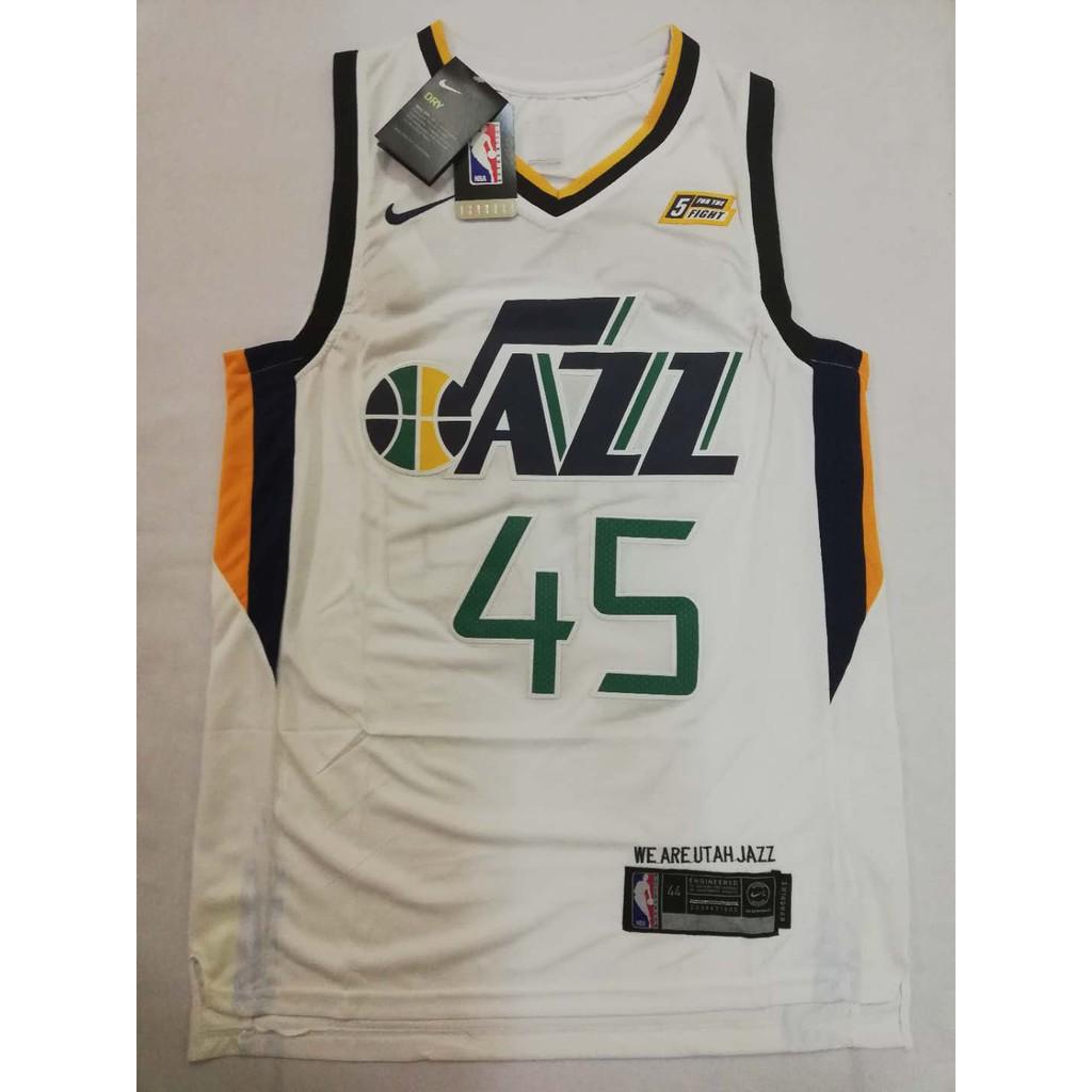 38c072e9 Utah Jazz Donovan Mitchell #45 Nike Swingman jersey | Shopee Philippines