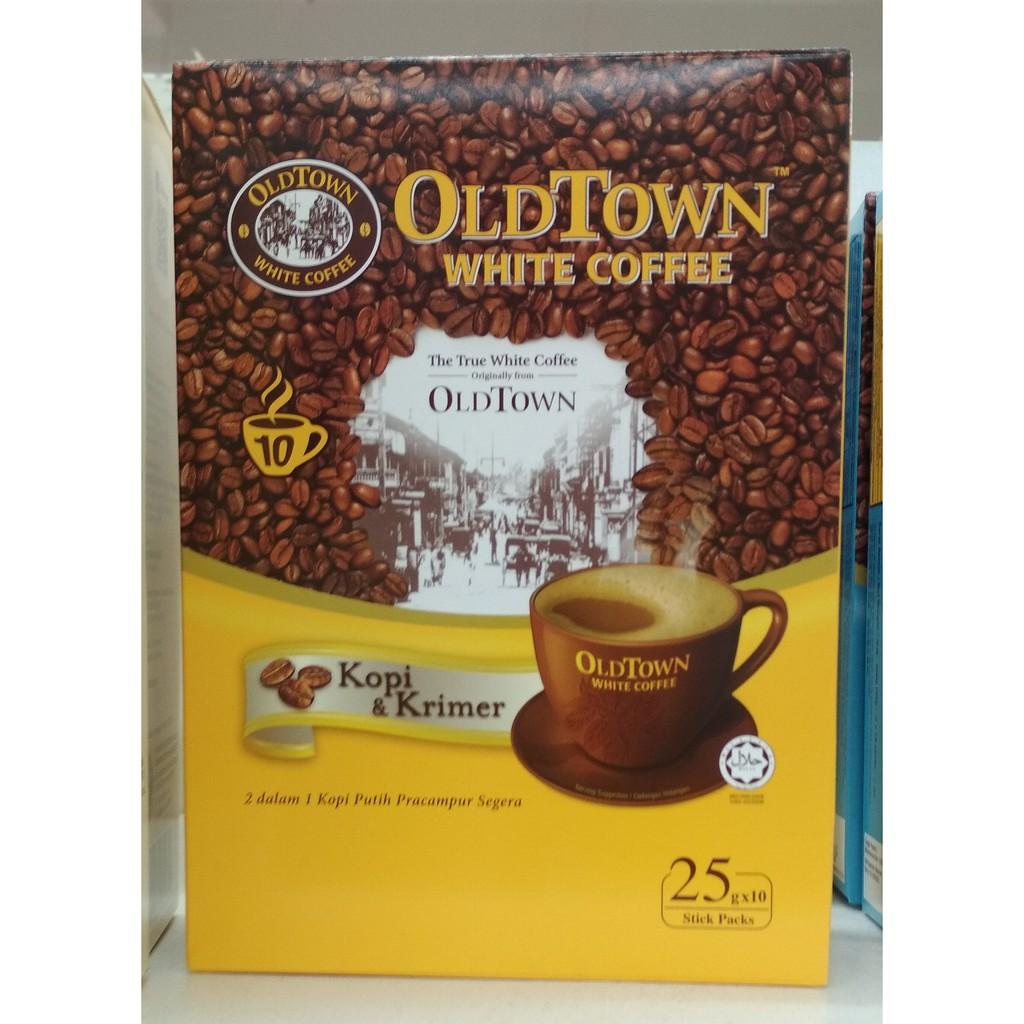 Oldtown White Coffee In Box 10sticks