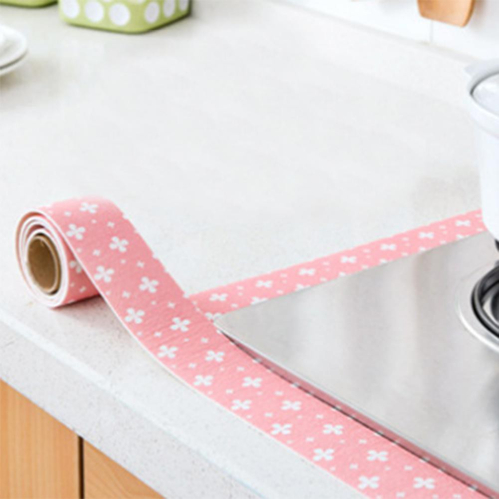 Waterproof Self Adhesive Sticker Sink Toilet PVC Static Sticker Home Decor