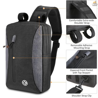 Bicycle Trunk Bag Chest Sling Pack Bag Rear Rack Carrier Bag Pannier Bag