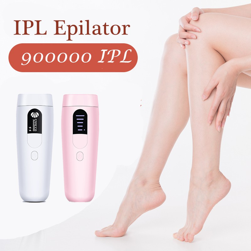 Laser Hair Removal Epilator 900000 Ipl Electric Hair Remover