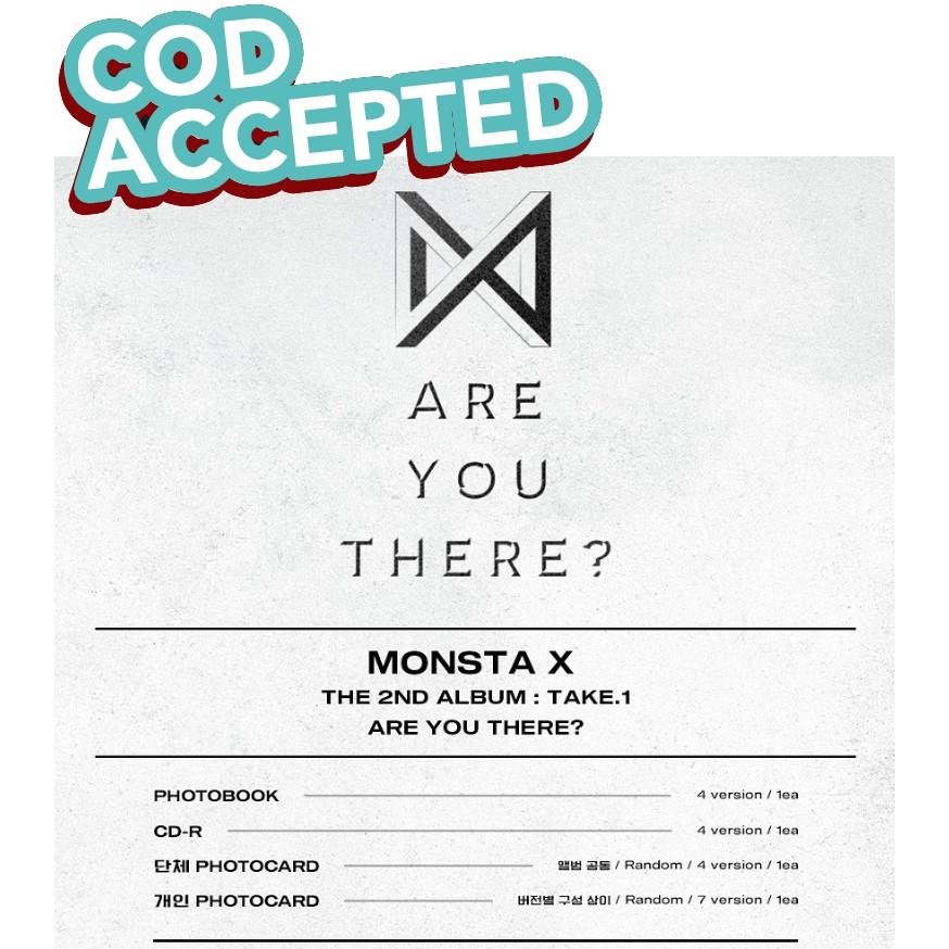 Monsta X Are You There? Album (COD)