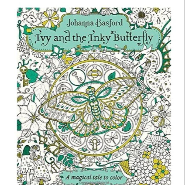 Johanna Basfords Ivy The Inky Butterfly SALE P750 Only