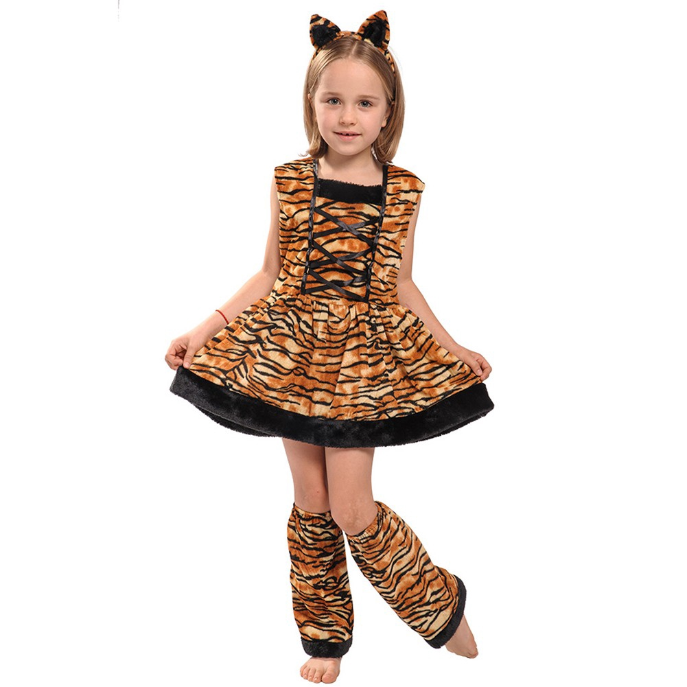 Boy/'s Girl/'s Child/'s Lion Fancy Dress Costume Nursery Book Day Animal All in One