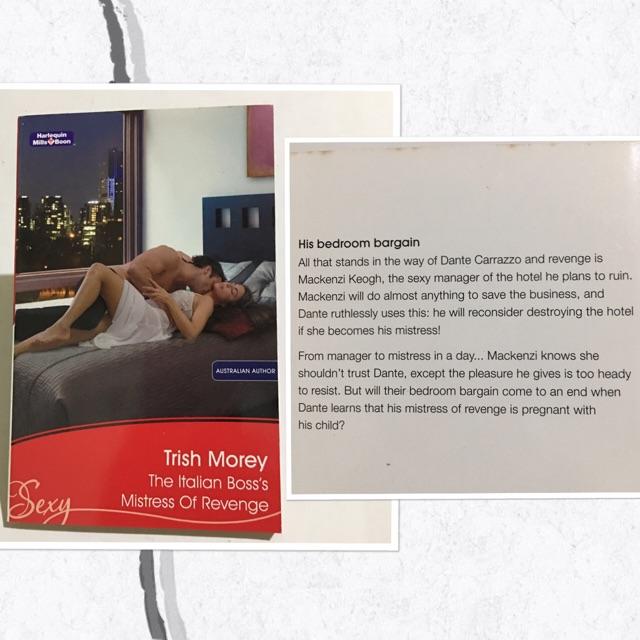 Harlequin Presents - TRISH MOREY Books | Shopee Philippines