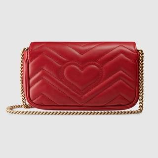 744945228fe ... Bags Others BNEW AUTHENTIC Gucci GG Marmont matelassé FLAP super mini.  like  4