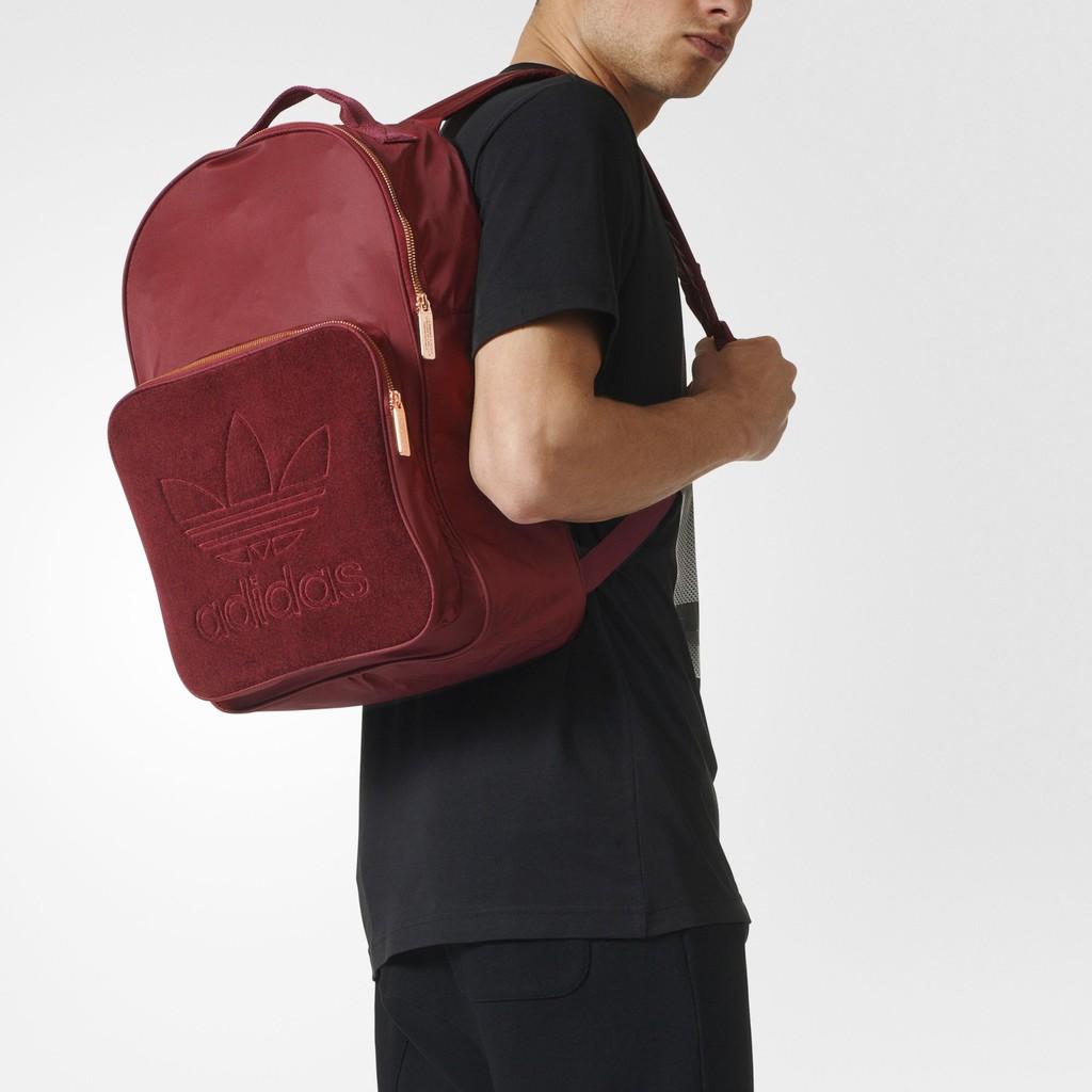 685167004e Adidas Classic Trefoil Backpack Burgundy- Fenix Toulouse Handball