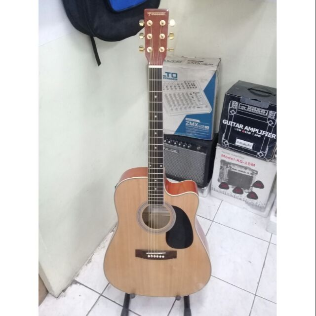 Fernando Acoustic Electric Guitar Shopee Philippines