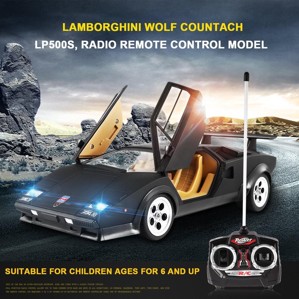 1 14 Car Toy Lamborghini Wolf Countach Lp500s Radio Rc Model