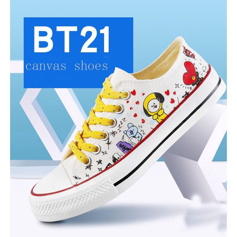 b1370a60eb95e6 BTS x Converse x BT21