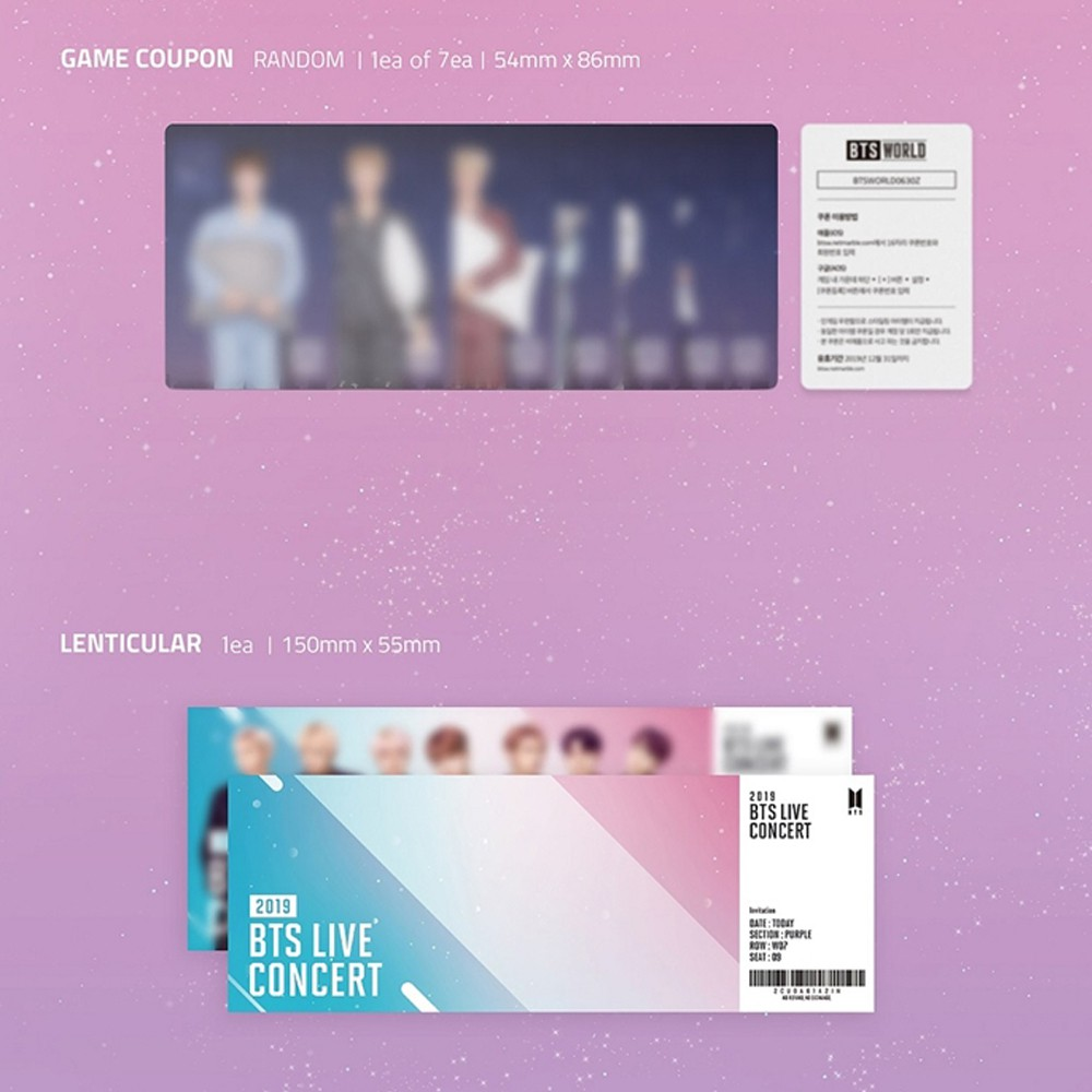 Bighit BTS World OST [Incl  Acrylic Photocard] | Shopee