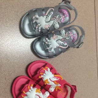 dbee836415 New unicorn flox kid girl sandal jelly shoes,baby shoes | Shopee ...