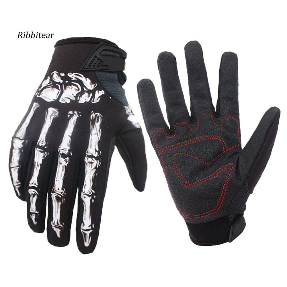 li Winter Mens All-Palm Touch Screen Three-Rib Gloves Fleece Riding Electric car Imitation Leather Warm pu Gloves
