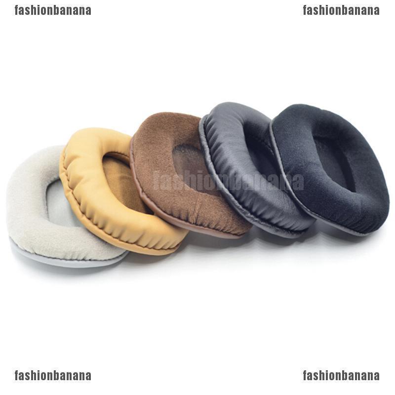 1Pair velour ear pads cushion for audio technica ath-m50 m50S m50X m40 m40S  m40X