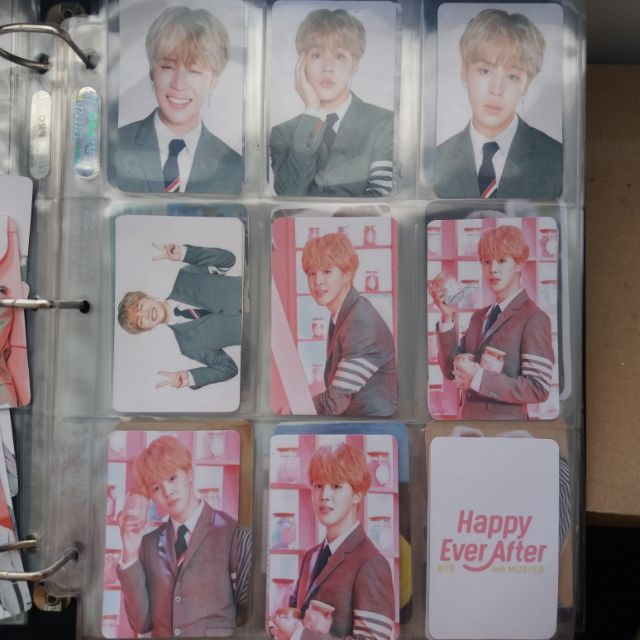 BTS 4th Muster: HAPPY EVER AFTER Photocards