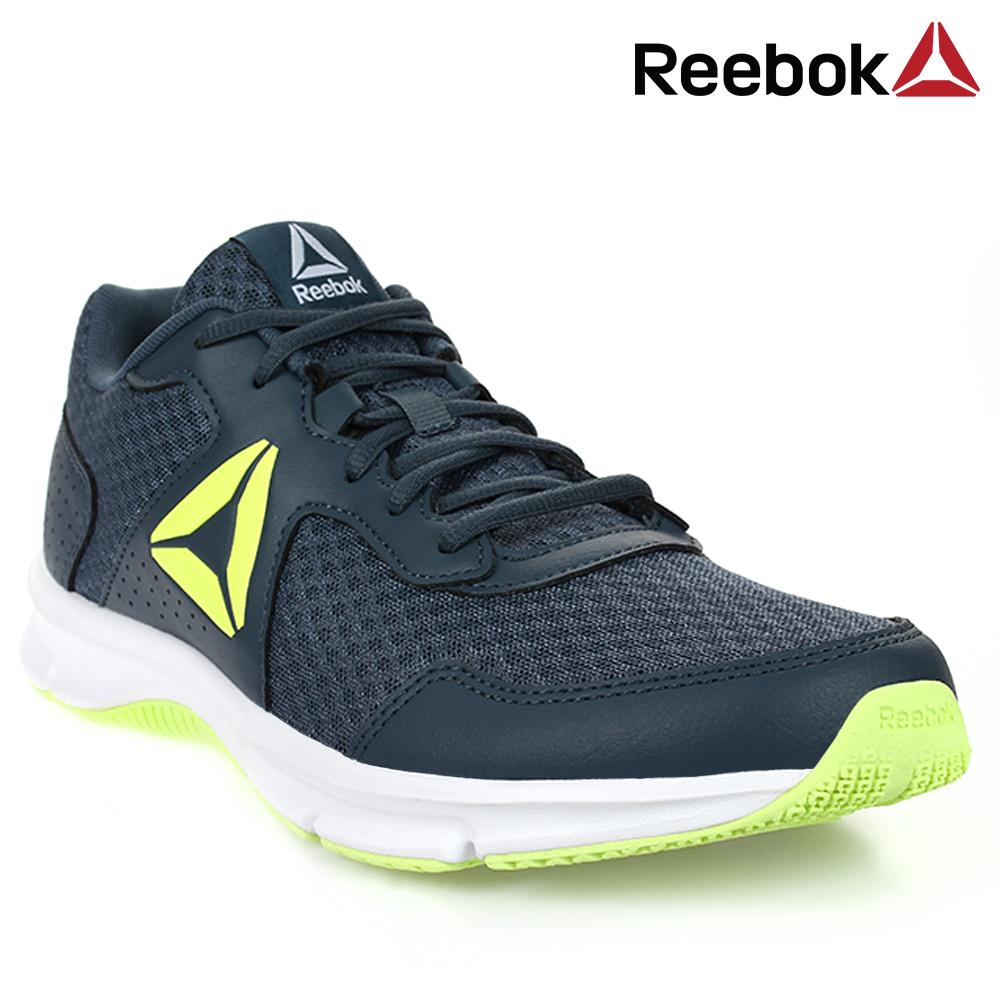 bb6d6038988 Reebok Express Runner Men's Running Shoes (Blue Green) | Shopee ...