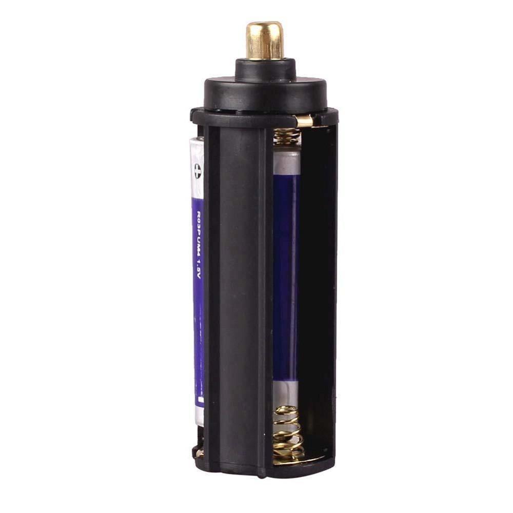1pcs AAA Battery Holder for Flashlight Torch Lamp u 1pcs 18650 Battery Tube