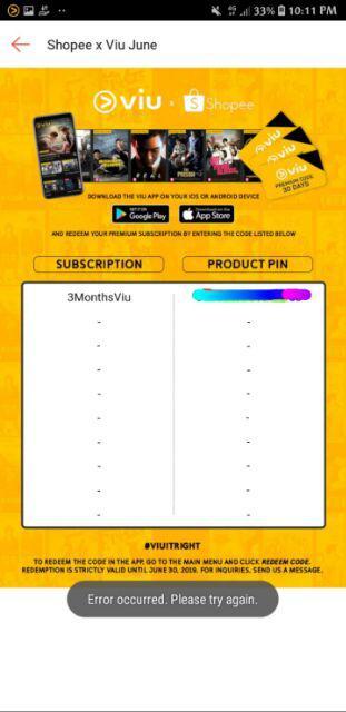 Viu Premium 3-MONTH SUBSCRIPTION | Shopee Philippines