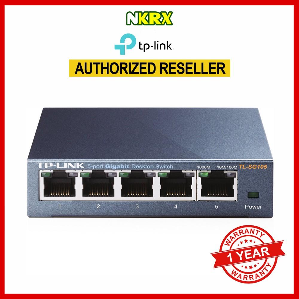 Tp Link Tl Sg1008d 8 Port Gigabit Desktop Switch Shopee Philippines