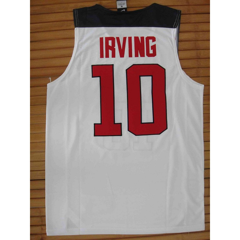 online store 16037 10d9f Nike Dream team Kyrie Irving NBA Jersey #10 in stock