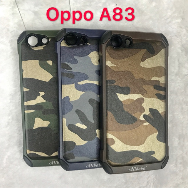 huge discount 9d469 a87cb Oppo A83 Camouflage Back Case