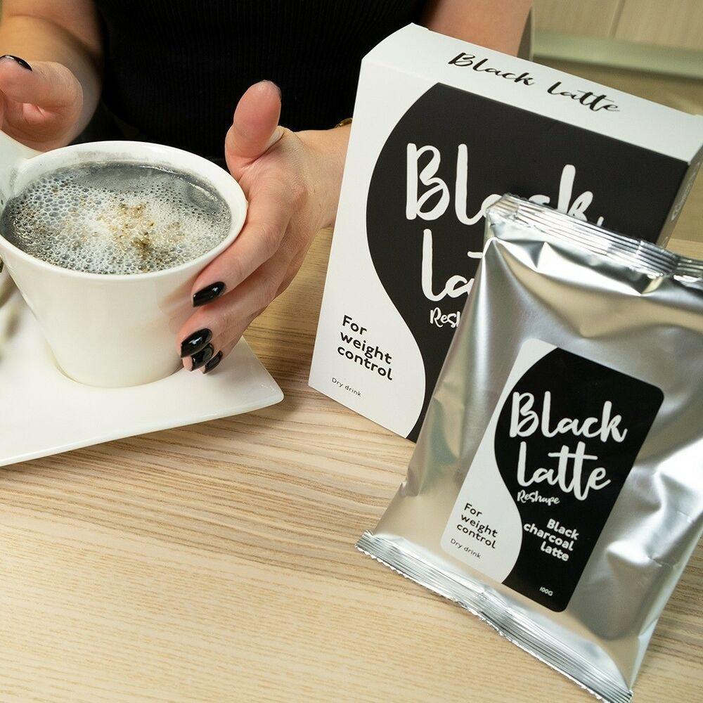 Image result for black latte