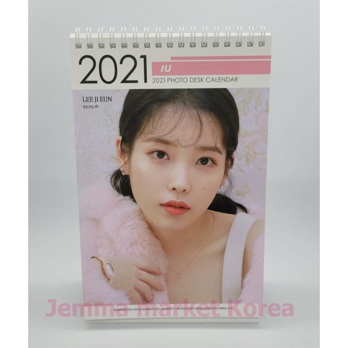 Iu 2022 Calendar.Iu Photo Desk Calendar 2021 2022 Random Of 2 Types Standing Spiral Bound Desk Calendar Lee Ji Eun Shopee Philippines