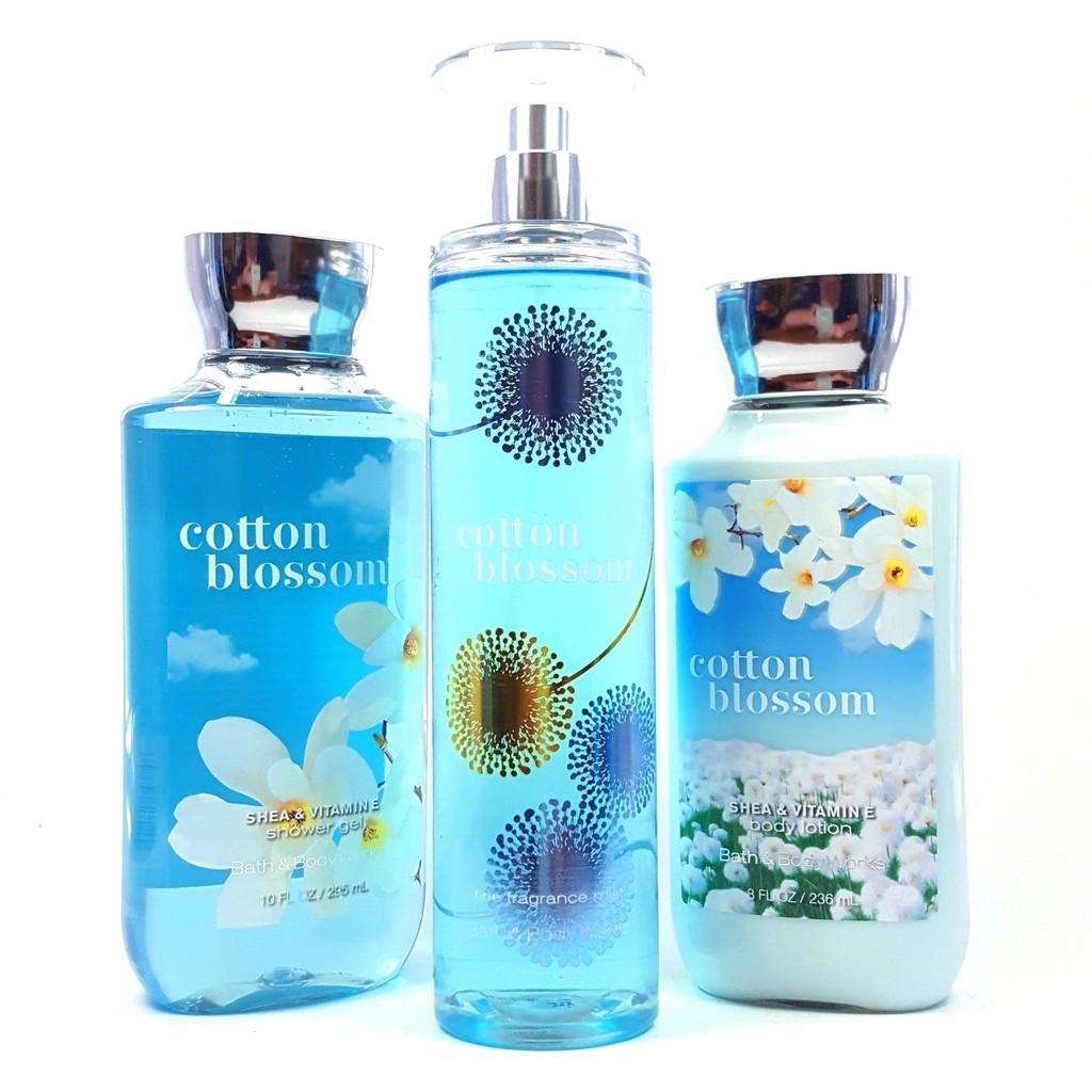 COTTON BLOSSOM Bath & Body Works Fine Fragrance Mist | Shopee ...
