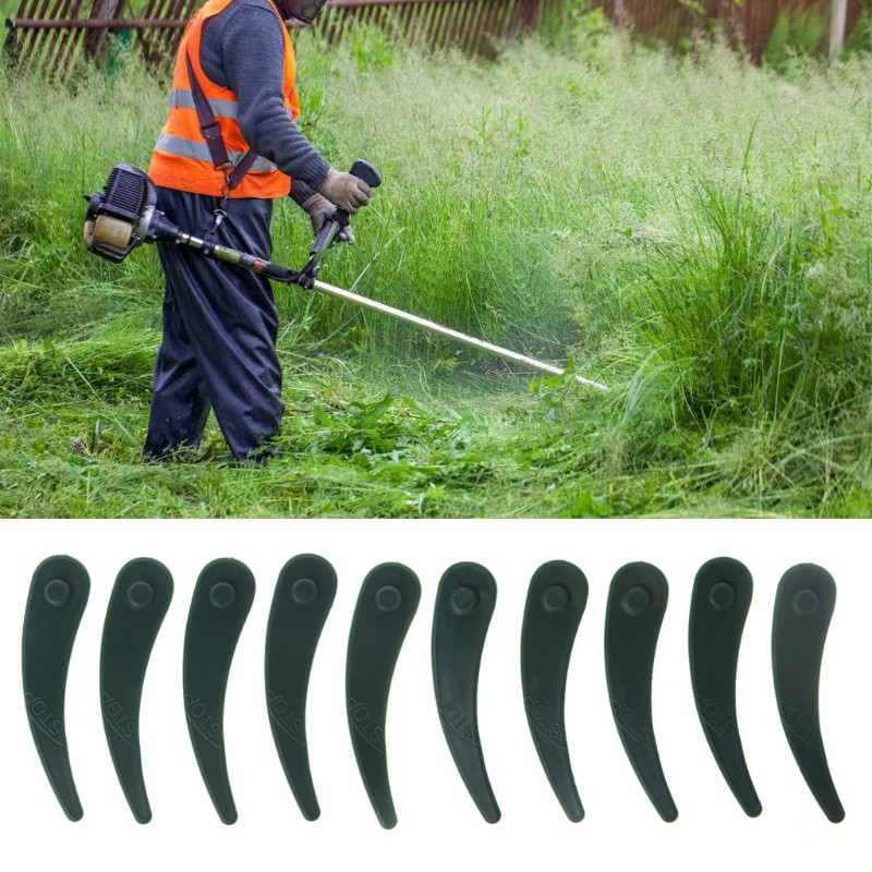 Grass Trimmer Garden Tools 3t/ 5t/ 6t Garden Lawn Mower Blade Manganese Steel Grass Trimmer Brush Cutter Head Long Performance Life