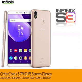 Infinix Hot S3 3GB RAM 32GB ROM (Blush Gold) w/ Freebies